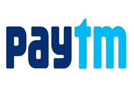 Receive money transfer via Paytm